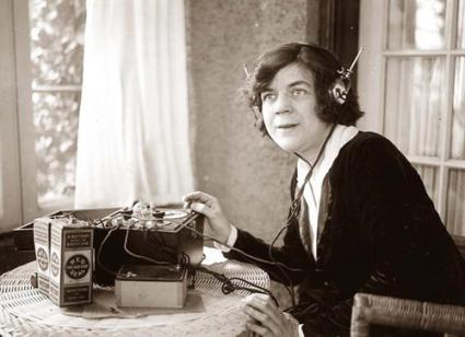 Old Time Radio_Headphones Woman_1.preview